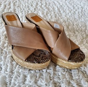 Kanna wedge espadrille sandals size 9 / 39